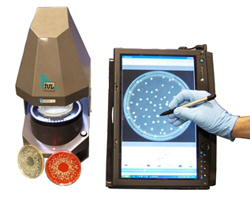 Image: Flash and Grow Automatic Colony Counter (Photo courtesy of Rapidmicrobiology).