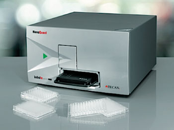 Image: the Infinite M200 spectrophotometer (Photo courtesy of Tecan).