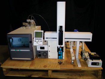 Image: Ultra nano-liquid chromatography system (Photo courtesy of Eksigent).