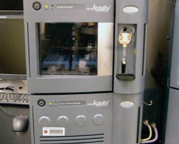 Image: The NanoACQUITY Ultra Performance Liquid Chromatograph (Photo courtesy of Waters Corporation).