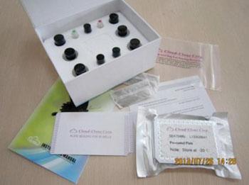 Image: Enzyme-linked immunosorbent kit (ELISA) specific for human copeptin (Photo courtesy of USCN Life Science).