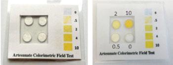 Image: The Artesunate Field Test Kit (Photo courtesy of Oregon State University).