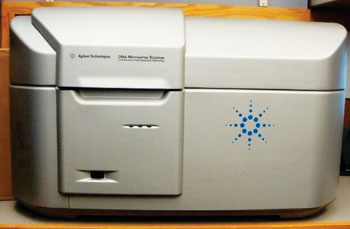 Image: The Agilent C high resolution microarray scanner (Photo courtesy of Vanderbilt University).