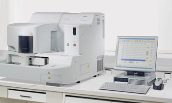 Image: The CS-2000i fully automated blood coagulation analyzer (Photo courtesy of Sysmex Corporation).