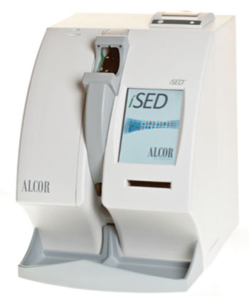 Image: Through advanced technology, the iSED automated analyzer provides accurate and efficient erythrocyte sedimentation rate (ESR) testing (Photo courtesy of ALCOR Scientific).