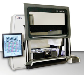 Image: The BD Viper LT System for fully automated, integrated molecular testing on a table top analyzer (Photo courtesy of BD Diagnostics).
