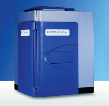 Image: The Biomark HD real-time polymerase chain reaction platform (Photo courtesy of Fluidigm).