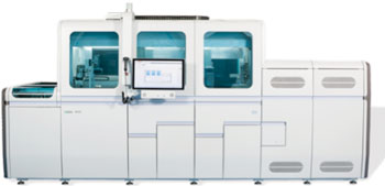 Image: The cobas 8800 System can run up to 960 tests in an eight-hour shift—3,072 tests in 24 hours—with only three user interactions and up to four hours of walk-away time per run (Photo courtesy of Roche).