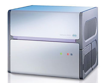 Image: The LightCycler 480 Instrument for polymerase chain reactions (Photo courtesy of Roche Applied Science).