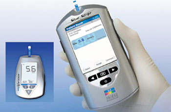 Image: The Nova StatStrip Glucose Hospital Meter System (Photo courtesy of Nova Biomedical).
