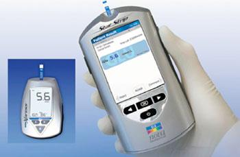 Image: The Nova StatStrip Glucose Hospital Meter System (Photo courtesy of Nova Biomedical).