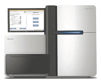 Image: The HiSeq 2000 ultra-high-throughput sequencing system (Photo courtesy of Illumina).