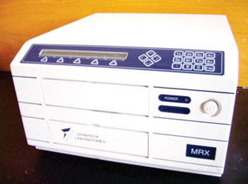 Image: The MRX II microplate reader (Photo courtesy of Dynex Technologies).