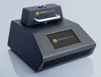 Image: Open qPCR, the new lower cost and world's first open-source real-time PCR thermocycler (Photo courtesy of Chai Biotechnologies).