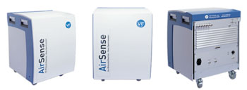 Image: The AirSense is a mass spectrometer based on the patented Ion-Molecule Reaction (IMR-MS) and can be used for a broad field of applications (Photo courtesy of V&F).