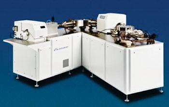 Image: The Nu Plasma II multiple collector inductively coupled plasma mass spectrometry instrument (MC-ICP-MS) (Photo courtesy of Nu Instruments).