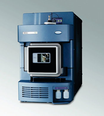 Image: The Xevo G2 quadrupole time-of-flight mass spectrometer (Q-TOFMS) (Photo courtesy of Waters Corporation).