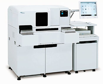 Image: The automated immunoassay system HISCL-5000 series (Photo courtesy of Sysmex).