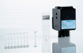 Image: The Genspeed C.diff OneStep – a rapid new molecular test that accurately diagnoses toxigenic Clostridium difficile in a single assay (Photo courtesy of Greiner Bio-One).