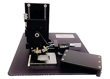 Image: Manual Tissue Arrayer for the construction of tissue microarrays (Photo courtesy of Beecher Instruments Inc.).