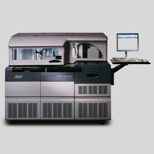 Image: UniCel DxC 800 Synchron Clinical Systems (Photo courtesy of Beckman Coulter).