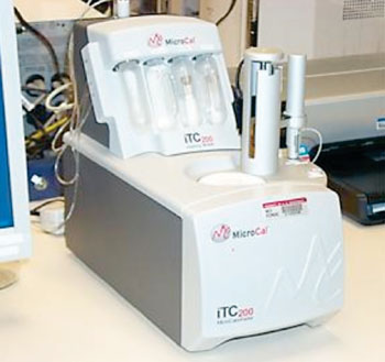 Image: The iTC200 Isothermal Titration Calorimeter (MicroCal) (Photo courtesy of US National Institute of Health).