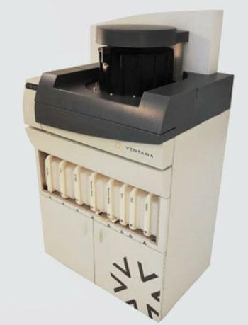 Image: The Automated Immunohistochemistry XT slide staining system (Photo courtesy of Ventana Medical Systems).