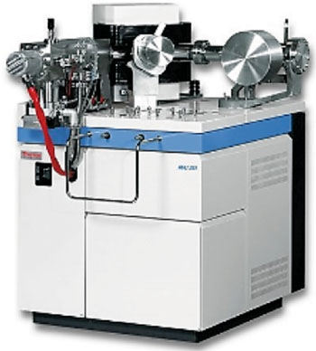 Image: A stable gas isotope ratio mass spectrometer (Photo courtesy of Thermo Scientific).