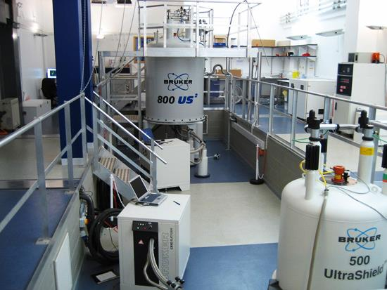 Image: Proton (1H) nuclear magnetic resonance (NMR) spectroscopy apparatus (Photo courtesy of Imperial College London).