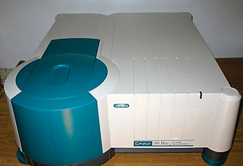 Image: The CARY 50 BIO UV-Visible Spectrophotometer (Photo courtesy of Agilent Technologies).