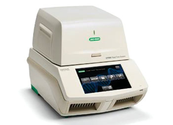 Image: The CFX96 real-time polymerase chain reaction (PCR) detection system (Photo courtesy of Bio-Rad Laboratories).