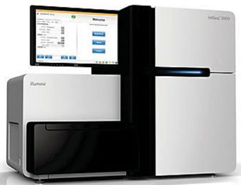 Image: The Illumina HiSeq 2000 sequencing system (Photo courtesy of Illumina).