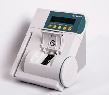 Image: The Bayer DCA 2000+ Analyzer is a point-of-care diabetes management platform that performs both glycated hemoglobin HbA1c and microalbumin / creatinine tests in minutes (Photo courtesy of Siemens).