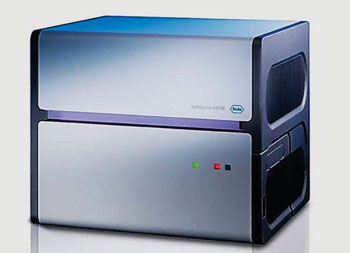 Image: The Light Cycler 480 II real-time polymerase chain reaction (PCR) amplification and detection instrument (Photo courtesy of Roche).