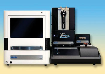 Image: The SR7500DC Dual Channel Surface Plasmon Resonance System (Photo courtesy of Reichert).
