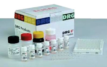 Image: The DRG Hepcidin 25 HS enzyme-linked immunosorbent assay (ELISA) kit (Photo courtesy of DRG International).