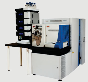 Image: The LTQ Orbitrap Elite mass spectrometer (Photo courtesy of Thermo Scientific).