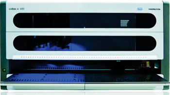 Image: The cobas 4800 is a fully automated sample preparation device, which amplifies and detects DNA targets using real-time polymerase chain reaction (PCR) (Photo courtesy of Roche).