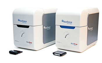Image: The RainDrop droplet polymerase chain reaction system (Photo courtesy of RainDance Technologies).