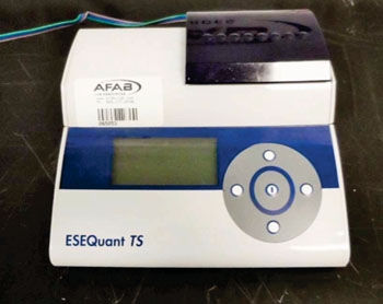 Image: The ESE Quant Tube Scanner (Photo courtesy of Qiagen).