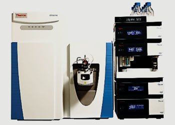 Image: The Q Exactive hybrid quadrupole orbitrap mass spectrometer (Photo courtesy of Thermo Fisher Scientific).
