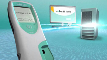 Image: The cobas IT 1000 connectivity system (Photo courtesy of Roche).